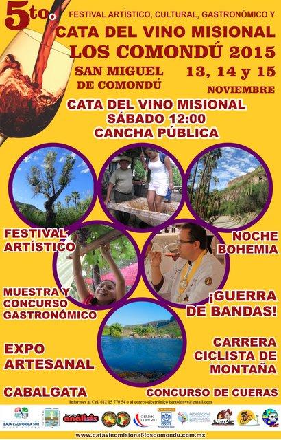 1-Cartel del 5to. Festival del Vino Misional, en JPG-001