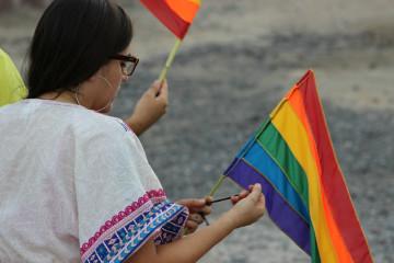 Bandera gay comunidad