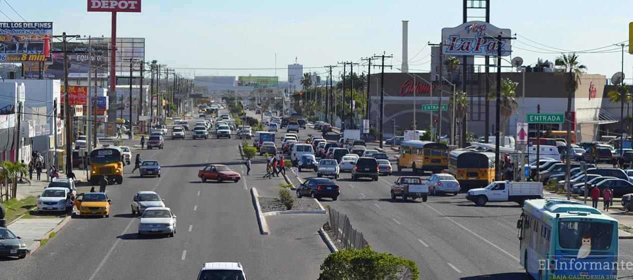calle autos coches la paz transporte