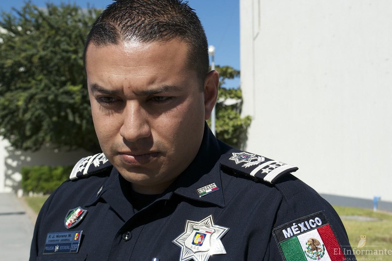 Comisario General Policia Estatal Francisco Javier Moreno Montano