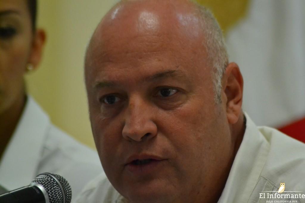 Fabricio González Rodríguez, presidente de la Coparmex en BCS