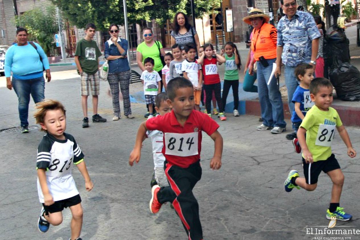 """Realizarán la """"Carrera Pedestre Infantil"""" en La Paz"""