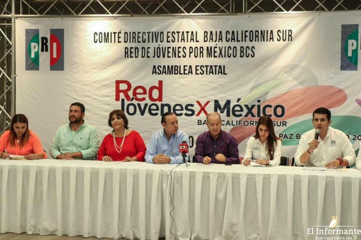 Realiza PRI Asamblea Estatal de la Red Jóvenes X México