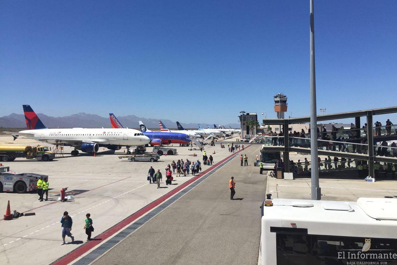 Aumenta la llegada de turistas v a a rea en los cabos - Aeropuerto de los cabos mexico ...