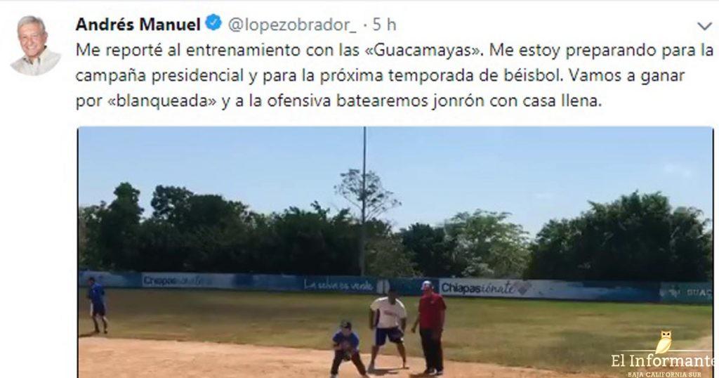 """Propone coordinadora de AMLO convertir a Los Pinos en un espacio cultural"""""""