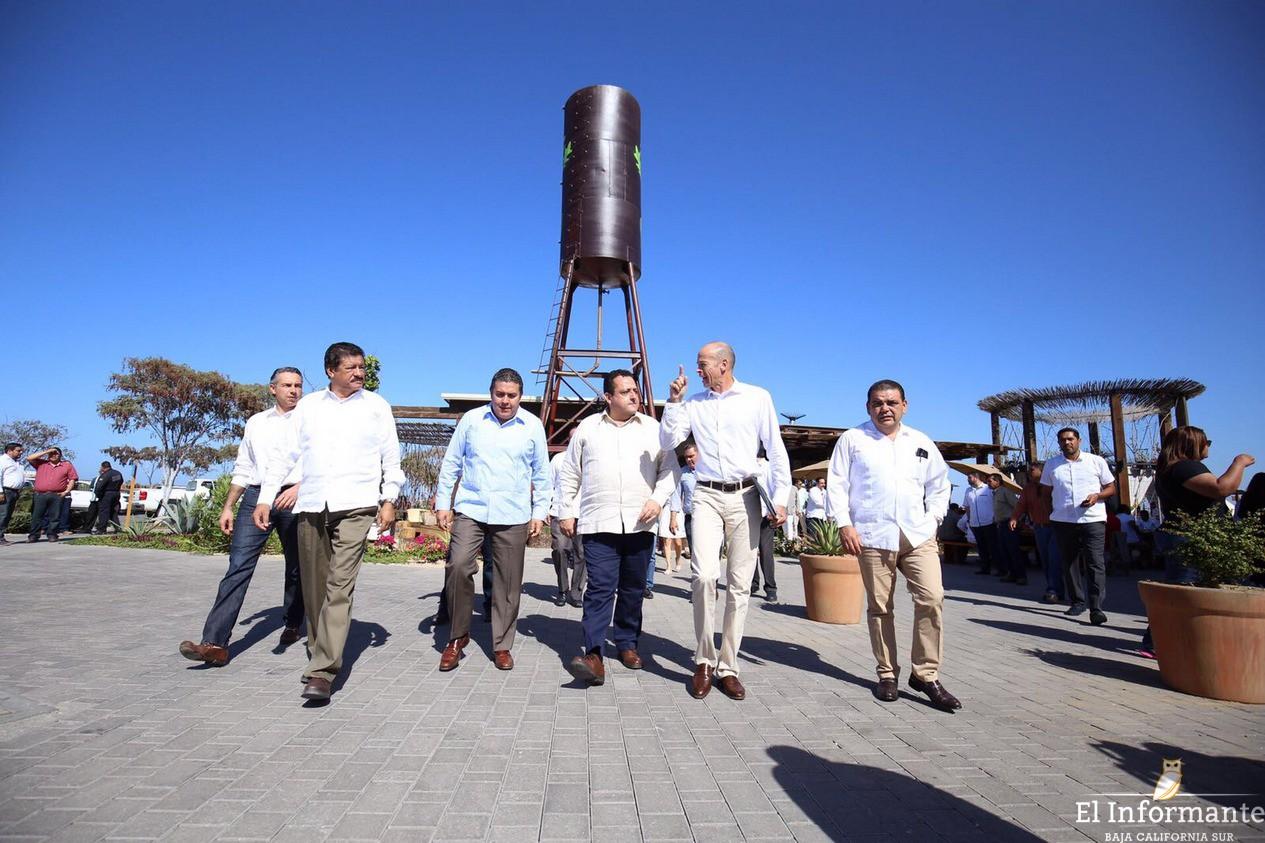 Visita El Gobernador De BCS Instalaciones De Tres Santos